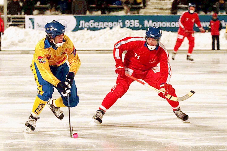 Кемерово хоккей с мячом